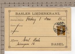 Basler Liederkranz (1915) - Santé