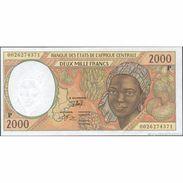 TWN - CHAD (C.A.S.) 603Pg - 2000 2.000 Francs 2000 AU - Chad