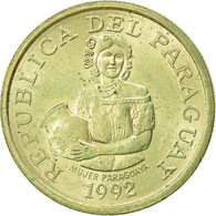 Paraguay, 5 Guaranies, 1992, SUP, Nickel-Bronze, KM:166a - Paraguay