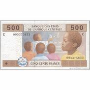 TWN - CHAD (C.A.S) 606Ca - 500 Francs 2002 (2010) AU - Chad