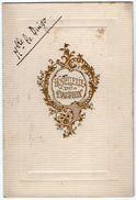 VP11.114 - Hostellerie Du Dauphin à VANNES - Ancien Menu De 1924 - Famille LE DUIGOU - Menus