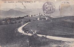 CPA 38 @ LE TRIEVES - LE PERCY En 1908 - Attelage Foin Agriculture - Autres Communes