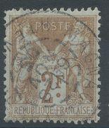 Lot N°38427  N°105, Oblit Cachet A Date De MAGNAC-LAVAL ( Haute-Vienne ) - 1876-1898 Sage (Type II)