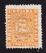 British Guiana, Scott #46, Seal Of The Colony, Issued 1863 - Guyana Britannica (...-1966)