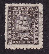 British Guiana, Scott #50, Seal Of The Colony, Issued 1866 - British Guiana (...-1966)