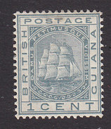 British Guiana, Scott #72, Mint Hinged, Seal Of The Colony, Issued 1876 - Guyane Britannique (...-1966)