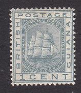 British Guiana, Scott #72, Mint Hinged, Seal Of The Colony, Issued 1876 - British Guiana (...-1966)