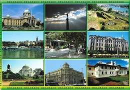 Belgrade, Beograd (Serbie) - Multivues - Design Ivan Petrovic - Serbie