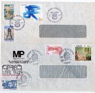 2 Enveloppes Oblitération Temporaire MUSEE POSTAL (1978 Et 1983) -(Les Enveloppes Ont Des Traces D'encollage à L'arrière - Cachets Commémoratifs