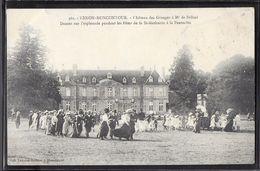CPA 22 - Hénon-Moncontour, Château Des Granges à Mr De Belisal - Fêtes De La St-Mathurin - Frankreich