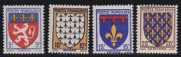 France   .    Yvert   .   572/575         .       **      .      Neuf SANS  Charniere   .    /    .     MNH - France