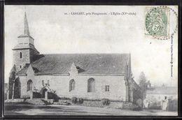 CPA 22 - Langast, L'église - Frankreich