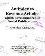 WORLDWIDE, Index To Revenue Articles In Serial Publications, By Richard Riley - Fiscaux