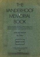 UNITED STATES, The Vanderhoof Memorial Book, By W. Larsen - Revenues
