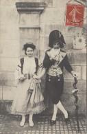 Fêtes - Carte-Photo - Carnaval Déguisement Gitane - Costume Incroyable - Beauvais 1907 Fête Jeanne Hachette - Carnaval