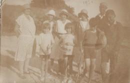 Enfants - Carte-Photo - Bains Maillots Mode - Jeux Tennis  - 1930 - Groupes D'enfants & Familles