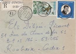 Congo (Brazzaville), Nice Registered Cover From BOKO-SONGHO, 07.05.1977  VFU - Congo - Brazzaville