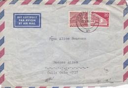 AIRMAIL. GERMANY/DEUTCHLAND/ALEMANIA 1956 - BLEUP - Usados
