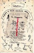 PARTITION MUSIQUE- MELODIES ET CHANTS POPULAIRES CELEBRES-H.CLASSENS-MON BEAU SAPIN-EDITEUR PHILIPPO PARIS 1951 - Scores & Partitions
