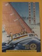 5431 - Whitebread Round The World Race 1989/1990 Fendant Du Valais 1988 Bateau Merit Skip Pierre Fehlmann - Bateaux à Voile & Voiliers