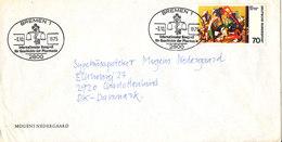 Germany Cover Bremen 3-10-1973 Internationale Congres Pharmacy Sent To Denmark - Pharmacy