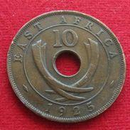 Africa East 10 Cents 1925 Afrika Afrique - Monnaies