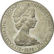 BRITISH VIRGIN ISLANDS, Elizabeth II, 10 Cents, 1974, Franklin Mint, U.S.A. - British Virgin Islands