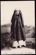 """OLD RARE AUTHENTIC CPA LATE 1800 EARLY 1900 """" COREA - COREE - THE OUTDOOR OF WOMEN """" - Korea, South"""