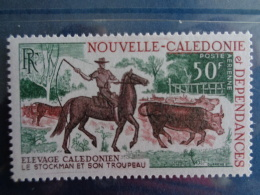 NOUVELLE CALEDONIE P.A. 1969 Y&T N° 104 ** - ELEVAGE BOVIN - Airmail