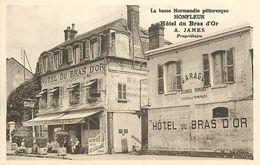 A-17.3245 :  HONFLEUR. HOTEL DU BRAS D'OR. A. JAMES - Honfleur