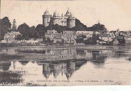 Cp , 35 , COMBOURG , L'Étang Et Le Château - Combourg