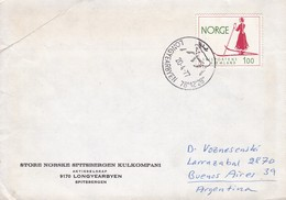 LONGYEARBYEN. NORUEGA/NORWAY 1977 - BLEUP - Covers & Documents