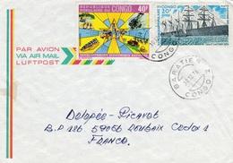 Congo (Brazzaville), Nice Cover From BARATIER, 10.12.1976, VFU - Congo - Brazzaville