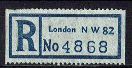 GB // R-Zettel, London N W 82 (9089) - Sin Clasificación
