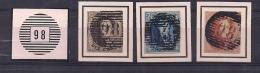PUERS-P98 NR 6-7-8 + KEURMERK OP ZEGEL 6+7 - 1851-1857 Medallions (6/8)