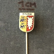 Badge (Pin) ZN005806 - Table Tennis (Ping Pong) Germany Schleswig-Holstein TTVSH - Table Tennis