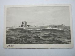 U-Boot  , Schöne Karte  U -35 , Ungebraucht - Weltkrieg 1939-45