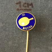 Badge (Pin) ZN005810 - Table Tennis (Ping Pong) Yugoslavia Croatia SD Bistra - Table Tennis