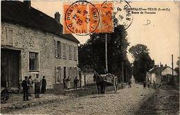 CPA   Cormeilles-en-Vexin (S.-et-O,) - Route De Pontoise   (580014) - France