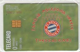 GREECE - FC Bayern 98/99, Fan Club Macedonia Greece, Tirage 1000, 12/98, Mint - Grèce