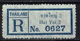 Thailand // R-Zettel, Hat Yai 2 (9093) - Tailandia