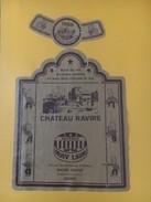 5438 -  Château Ravire 1989 Ligue Suisse Hockey Sur Glace Referee - Etiquettes