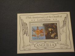 ANGUILLA - BF 1981 NELSON - NUOVI(++) - Anguilla (1968-...)