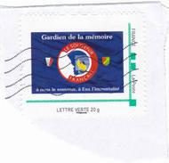 Gardien De La Memoire Le Souvenir Français - Personalized Stamps (MonTimbraMoi)