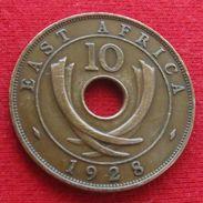 Africa East 10 Cents 1928 Afrika Afrique - Otros – Africa
