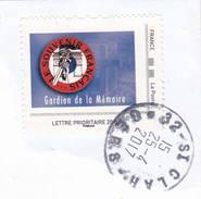 Gardien De La Memoire Souvenir Français - Personalized Stamps (MonTimbraMoi)