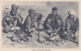 India Benares Snake Charmers - India