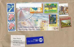New Zealand 2017 Auckland Children's Health Stamp Issue Miniature Sheet Cover - Brieven En Documenten