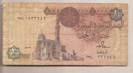 Egitto - Banconota Circolata Da 1 Sterlina P-50d.10 - 1992 - Egypt