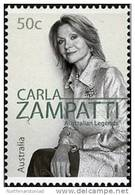 2005. AUSTRALIAN DECIMAL. Fine Arts. (Textiles). 50c. Australian Legends 2005 - Carla Zampatti. FU. - 2000-09 Elizabeth II